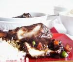 BBQ chicken casserole