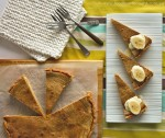 Brown butter banana tart