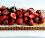 Strawberry and lemon tart 1