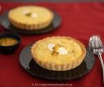 Passionfruit curd tartlets
