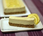 Paleo lemon cheesecake