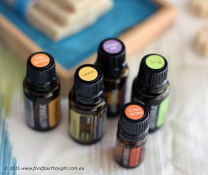 A few of the doTERRA range