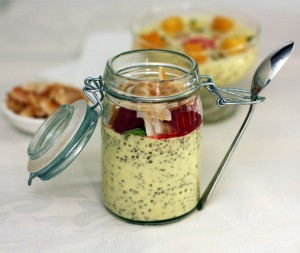 Paleo Mango ginger and lime chia pudding - Thermomix